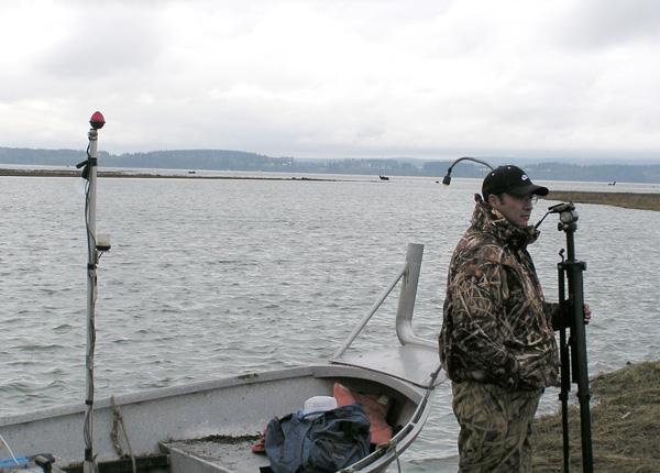 Habitat use by waterbirds, Skagit River delta